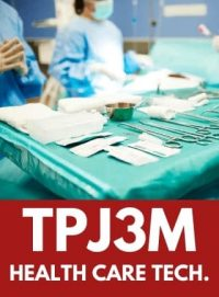TPJ3M, Grade 11 Healthcare Technology