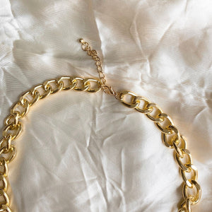 Cuban Linked Chain Choker Necklace