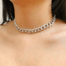Load image into Gallery viewer, Cuban Linked Chain Choker Necklace