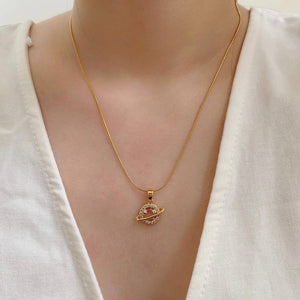 Millicent 18k Gold Plated Necklace