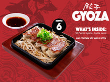 Load image into Gallery viewer, GYOZA box (good for 6)