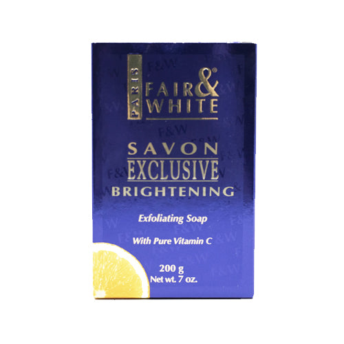 "Fair & White Exclusive Exfoliating Soap with Pure Vitamin ""C"" 200g"