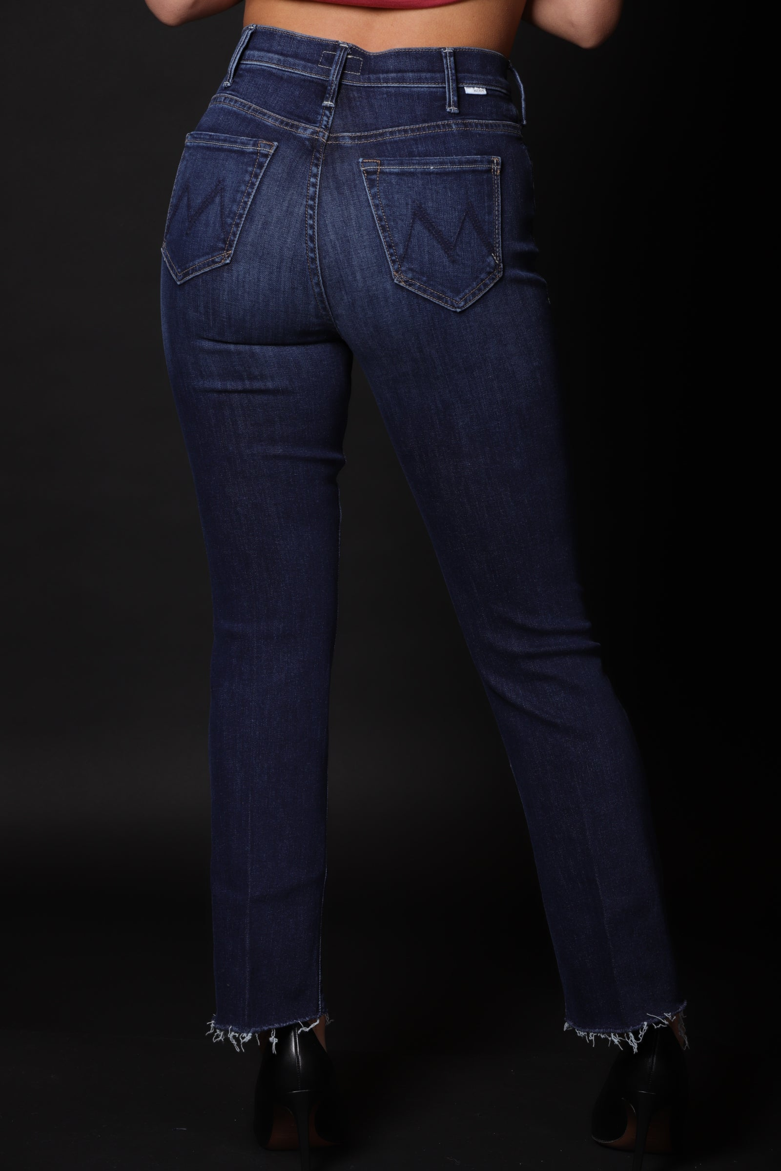 Mather Jeans Donna Denim  A Zampetta