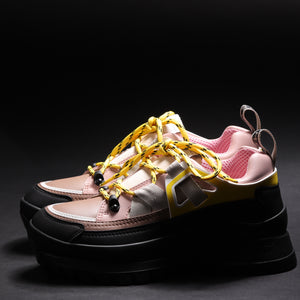 Stella MC Cartney Sneaker Suola Gomma Nera - Multicolor