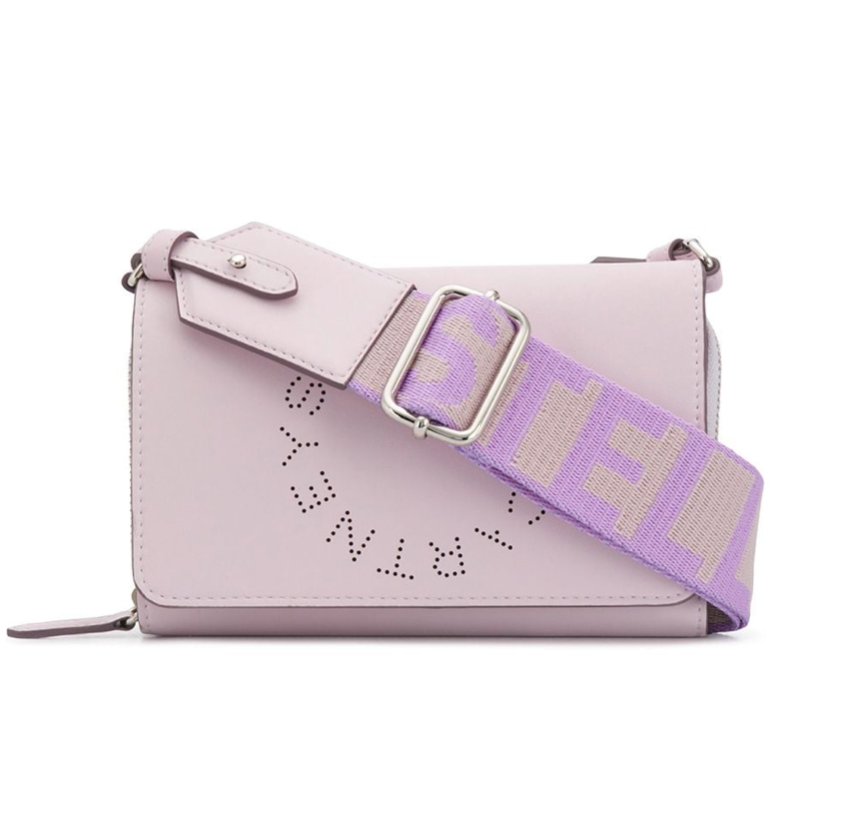 Stella McCartney - Stella MC Cartney Zip Wallet Eco Soft Lilla