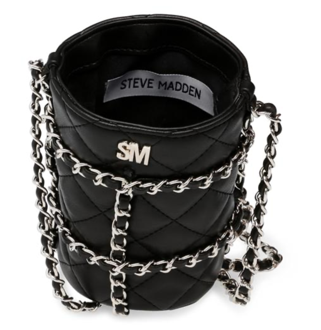 Steve Madden Borsa - Bquench Black And Red Portaborraccia
