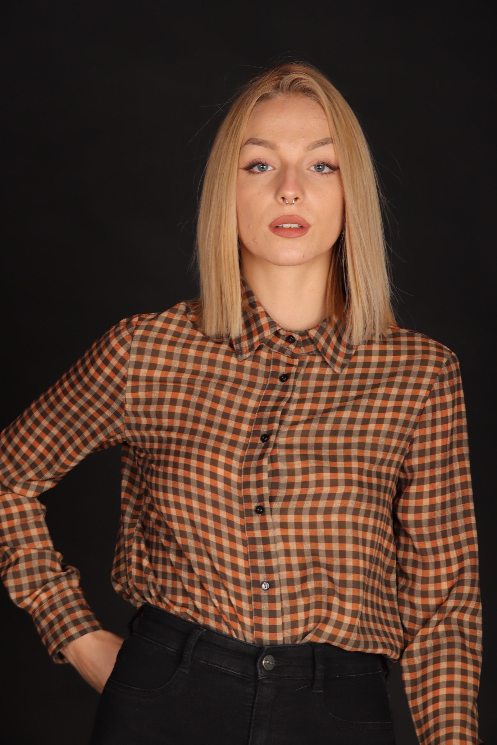 Nora Barth Factory Group - Aspesi Nora Barth Camicia Quadri Art. 17339 142 50