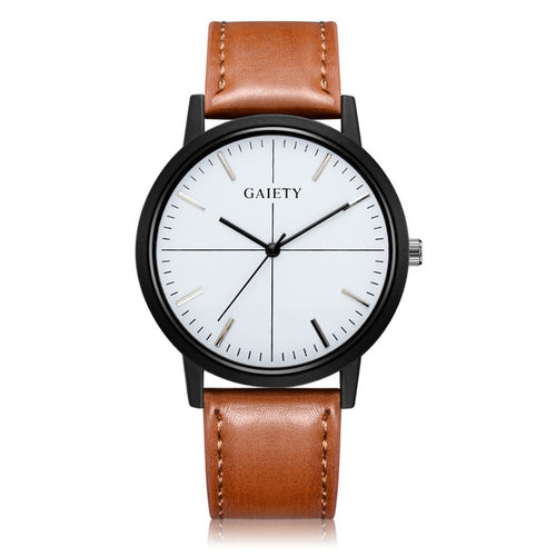 Business Casual Leather Watch