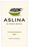 Aslina Chardonnay .750L Western Cape South Africa