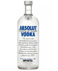 Absolut 1.0L Vodka 80 Proof Sweden