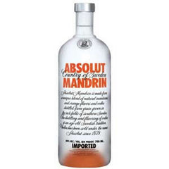 Absolut Mandarin  Vodka .375L Sweden