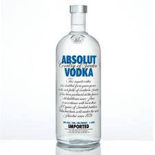 Absolut Vodka 80 .375L Sweden