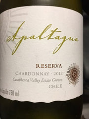 Apaltagua  Reserva Unoaked .375L Chardonnay Chile
