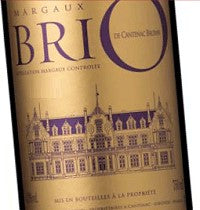 Brio de Cantenac(VIRTUAL) Brown Margaux 2015  750ML / 12  Vinous 90 points