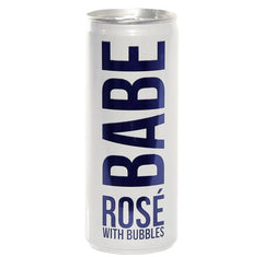 Babe Sparkling Rose Can .250L California