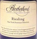 Brotherhood Riesling .750L New York