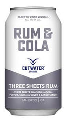 Cutwater Rum & Cola .355L California