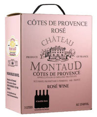 Chateaud Montaud Rose 3.0L Box Provence France