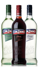 Cinzano Bianco Sweet Vermouth .750L Italy