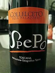 Collelcetto Lo Spepo Tuscan Red .750L
