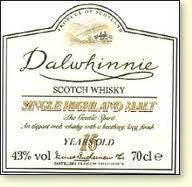 Dalwhinnie 15 Years 86 Proof Scotch Single Malt