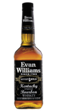 Evan Williams Black Label Straight Bourbon Whiskey 1.0L Kentucky