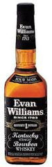 Evan Williams Black Label Straight Bourbon Whiskey .750L Kentucky