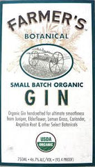 Farmer's Botanical Gin USA