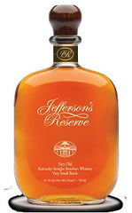 Jefferson's Reserve Very OLD Very Small Batch Bourbon .750L Kentucky
