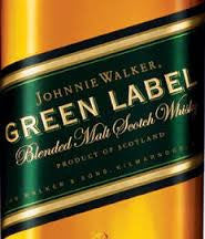 Johnnie Walker Green Label Blended Scotch Whiskey .750L Scotland