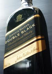 Johnnie Walker Double Black Label Scotch Whiskey .750L Scotland