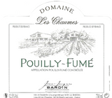 Bardin Les Chaumes Pouilly Fume .750L Loire Valley France