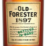 Old Forester 1897 Bourbon .750L