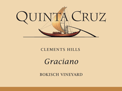 Qunita Cruz Graciano Bokisch Vineyard Santa Cruz Mountain California .750L USA