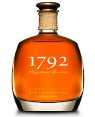 Ridgemont Reserve 1792 Small Batch .750L Bourbon Kentucky USA