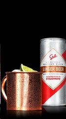 STOLI GINGER BEER .355ML CAN STOLICHNAYA RUSSIA