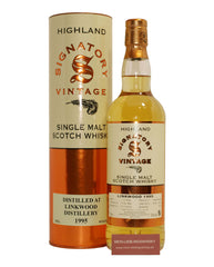 Linkwood Signatory 21 Years 1995 .750L Single Malt Whisky Scotland