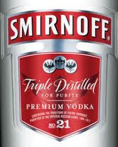 Smirnoff .375L Vodka 80P USA