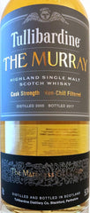 Tullibardine The Murray Cask Strength Non-Chill Filtered Dist. 2004  .750L