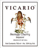 Vicario Liqueur Savage Cherry .750ML South Carolina