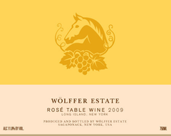 Wolffer Estate Rose .750L Long Island New York