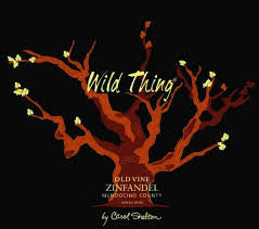 Wild Thing .750L Zinfandel Old Vine California