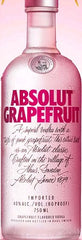 Absolut Grapefruit Vodka .750L Sweden