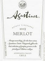 Agustinos Merlot 1.5L Chile