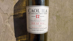 Caol Ila 12 yrs. Single Malt Scotch Islay .750L Scotland