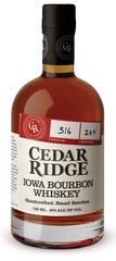 Cedar Ridge Bourbon .750L Iowa
