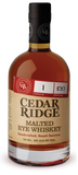 Cedar Ridge .750L Rye Whiskey Iowa