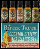 The Bitter Truth Cocktail Bitters 5 Flavors Traveler's Set 5 x 20ml  100ml Germany