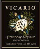 Vicario Liqueur Artichoke .750ML South Carolina
