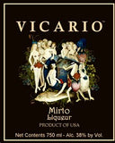 Vicario Liqueur Mirto 750ML South Carolina